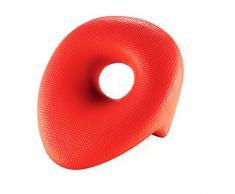 Outlook Design V843S10060 Comfort Cuscino Poggiatesta per Vasca da Bagno, Rosso