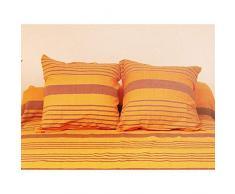 Fodera per cuscino 40 x 40 cm OLYMPE arancione