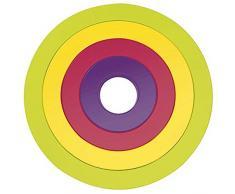 Zak Sottopentola Cerchi Set di 4, in Confezione Regalo, Flora
