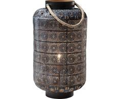 Kare Lampada da Terra Sultans Home, Nero, 58 x 39 x 39 cm