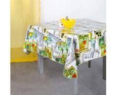 Bella tovaglia Casa N61163001PV Olio, Cotone, 140 x 140 cm verniciati,