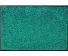 wash + dry - Tappeto Peacock Green 60x90, Verde