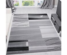 Tappeto Pelo Lungo Turchese : Vimoda soggiorno tappeto pelo corto turchese bianco grigio moderno