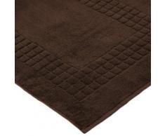 Linens Limited Supreme - Tappeto da Bagno 100% Cotone Egiziano, Cioccolato, L 80 cm x l 50 cm