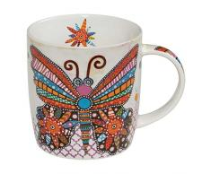 Maxwell Williams DI0101 - Tazza in porcellana, motivo: Smile