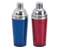 PADERNO 41481-02 Shaker Double Wall, Inox, Blu