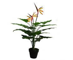 Leaf Foglia pianta Artificiale, Verde, Arancione, Giallo, Rosso, 70Â cm
