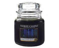 Yankee Candle Candela Giara Media, Dreamy Summer Nights, fragranze naturali