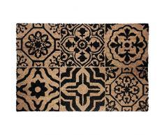 Tappeto decorativo zerbino 40 x 60 cm, in cocco lisbonne