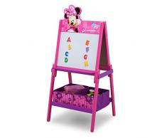 Delta Children Minnie Mouse Cavalletto, Legno, Viola, 55.88x55.88x115.69 cm