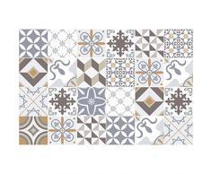 Ambiance-Live, Adesivo da Parete, Adesivo murale: Piastrelle adesive per Piastrelle in Cemento - azulejos -15 x 15 cm - 24 Pezzi