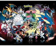 GB Eye - Poster, motivo:Pokemon, 40 x 50 cm, colore: multicolore