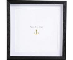 Kare Quadro Frame Anchor, Bianco, 32.5 x 1.8 x 32.5 cm