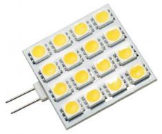 Transmedia LL11WL - Bobina di nastro con luci a LED 25 V 3 W G4, luce Bianca Calda