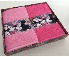 Disney 61723 - Set 2 asciugamani minnie love