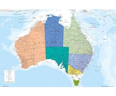 GB Eye LTD, Australia, Mappa, Maxi Poster, 61 x 91,5 cm