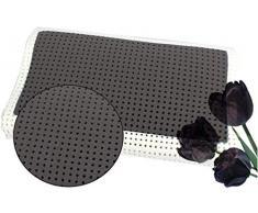 venixsoft KE-IM15-9SYE Cuscino per Letto Guanciale Anti Soffoco Memory Foam Termosensibile 70 cm x 40 cm x 10/12 cm Cuscino Anti Cervicale