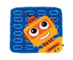 Vervaco PN-0150161 forma tappeto Playful Robots
