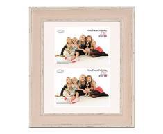 Inov 8 PFE LWPK-DA2 tradizionali britannici rosa foto e cornici, 25 x 30 cm, doppia visiera 2x 13 x 18 cm, confezione da 4, grande lavaggio
