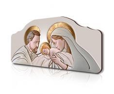 Lupia Quadro capezzale Sacro 50x100 cm The Kiss Ceramic su tavola Lavorata