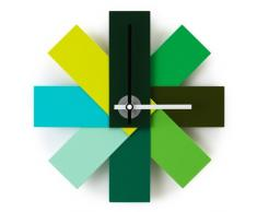 Watch Me - Orologio da parete verde