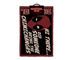Deadpool Chimichangas zerbino, Nero/Rosso e Bianco