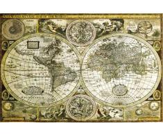 empireposter Landkarten - World Map - Historical Educational Poster Plakat Druck - Grösse 91,5x61 cm