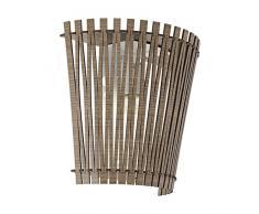 Eglo SENDERO - Lampada da parete in acciaio, 60 W, colore: bianco