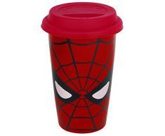 GB eye MGT23764 Tazza da Viaggio Marvel Retro Spider-Man Eyes, Ceramica, Multicolore, Unica