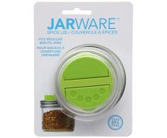 Jarware Space Lid Cucchiaio per Spezie, Verde