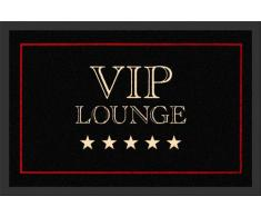 Empire Merchandising GmbH, 623164, Zerbino VIP Lounge, 60 x 40 cm, in Polipropilene, Colore: Nero