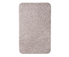 Andiamo 700613 - Zerbino per ingresso Samson, in cotone lavabile in lavatrice a 30° C, dimensioni: 60 x 100 cm, tinta unita, colore: Beige chiaro