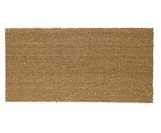 Floormad Cocco Zerbino, Fibra/Vinile, Beige, 40x80x1.7 cm