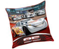 Disney Cars 2 - Fodera di cuscino McQueen con cerniera 40x40cm