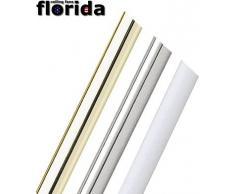 Acciaio INOX 30Â cm goccia rod per ventilatori a soffitto
