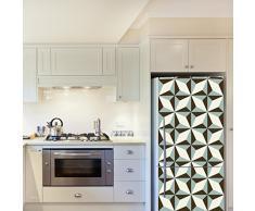 WALPLUS – Adesivi da Parete North Star Pattern 4 Confezioni Frigo Decorazioni Rimovibile Adesivi Decalcomanie Arte Salotto Cucina mobili Arredamento Decorazione per la casa, ristoranti, Hotel
