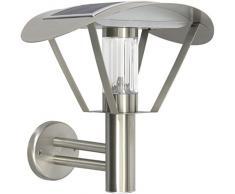 Ranex Lampada LED da Esterni a energia Solare 0.5 W, Grigio