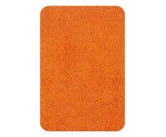 Spirella 10.13069 - Tappetino Highland da Bagno, 60 x 90 cm, Colore: Arancio