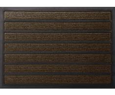 ID Opaco 609010 comprendente Tappeto Assorbente Zerbino in Fibra, in Polipropilene/PVC, Dimensioni: 80 x 60 x 1,1 cm