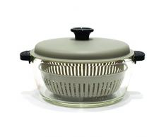 Cuisy KC2172 Cocotte compatibile per forno e forno a microonde, in vetro/plastica, 25 x 20 x 14 cm, 2 L