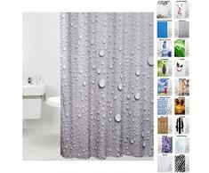 Sanilo Tenda da doccia, doccia tende a scelta molte belle, di alta qualità, Tessuto, Dewdrop, 180 x 180 cm