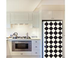WALPLUS Adesivi da Parete Diamanti, 4 confezioni da frigo decorazioni rimovibile adesivi decalcomanie arte salotto cucina mobili arredamento decorazione per la casa, ristoranti, hotel, Multicolore