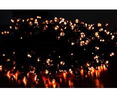 Euronatale Luci di Natale per Albero, 2000 LED Luce Calda Gialla, 40 m