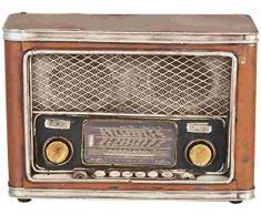 Clayre & Eef 6Y1229 - Salvadanaio Radio 24 x 10 x 16 cm