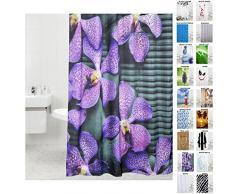 Tenda da doccia, doccia tende a scelta molte belle, di alta qualità , Tessuto, Vanda, 180 x 200 cm