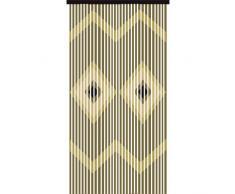 JVL–Provenza in legno da appendere in rilievo diamanti porta tenda display, multicolore, 90x 180cm