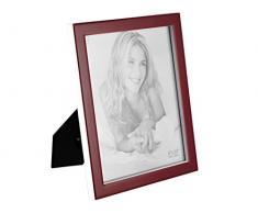 H&H Portafoto Plastica Rosso Cm20X25 Arredo E Decorazioni Casa, 20x25 cm