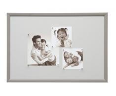 Deknudt Frames S54ST4 40 x 60 lavagna magnetica bigiò di legno