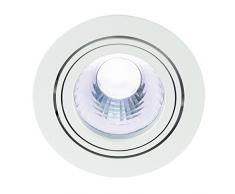 SLV, Faretto LED da soffitto New Tria, con telaio da incasso, rotondo, 4000 K, 60°, Bianco (weiß)