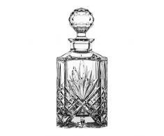 Crystaljulia 8084Â Whiskey Caraffa, Cristallo, 1000Â ML, 11Â x 11Â x 19Â cm